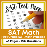 First Grade SAT 10 Math Practice - 50+ SAT Practice Questions