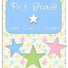 First Grade SECOND Quarter Common Core Preview