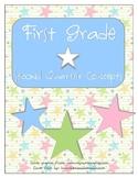 First Grade SECOND Quarter Common Core Preview
