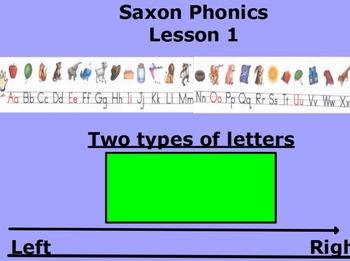 First Grade Saxon Lesson 3