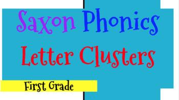 First Grade Saxon Phonics {Flash Cards} BUNDLE!!