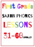 First Grade Saxon Phonics Lesson {31-40, 41-50, 51-60} BUNDLE!!