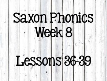 First Grade Saxon Phonics Lessons 36-39