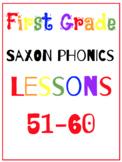 First Grade Saxon Phonics Lessons {51-60}