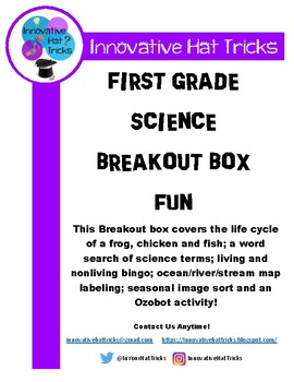 First Grade Science Breakout Box
