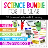 First Grade Science Bundle Integrating Literacy