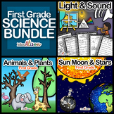 First Grade Science Bundle (works with distance learning)