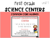 First Grade Science Center: Making Observations