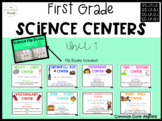 Science Centers and Activities: First Grade Unit 1