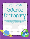 First Grade Science Dictionary