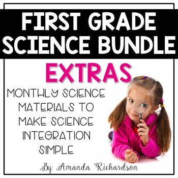 First Grade Science Extras