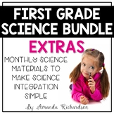 First Grade Science Bundle Extras ONLY