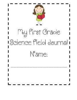 First Grade Science Journal