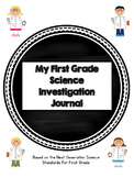 First Grade Science Journal: Next Generation Science Standards