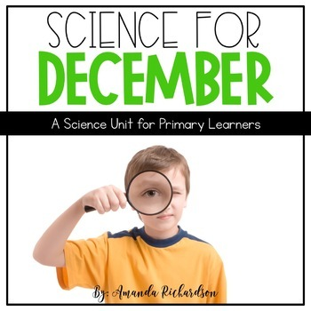 Science for December BUNDLE: Reindeer, Mammals, Snow, & Birds