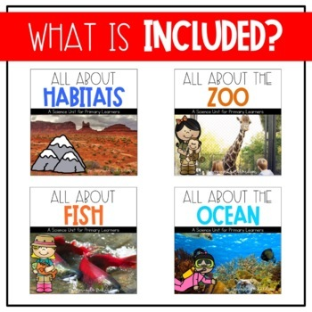 First Grade Science for May: Habitats, Ocean, Fish, and the Zoo