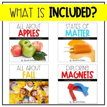 First Grade Science For September Magnets Apples Matter And Fall