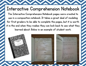 First Grade Scott Foresman Focus Wall and Interactive Comprehension Notebook