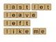 First Grade Scrabble High Frequency Word Math