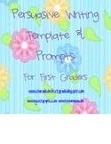 First Grade, Second Grade Common Core Persuasive Writing P