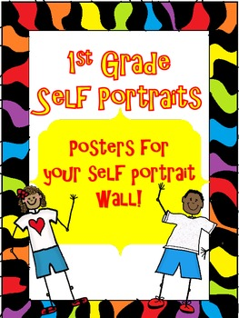 First Grade Self-Portrait Posters/ Book Cover