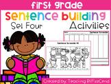 First Grade Sentence Building (Set 4)