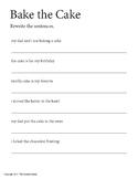 First Grade Sentence Rewrite Worksheet