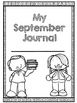 First Grade September Journal with JOURNAL PROMPTS!
