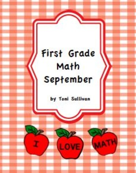First Grade September Math