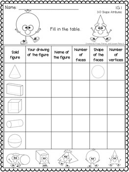 First Grade Shapes