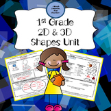 First Grade Shapes Unit Kit