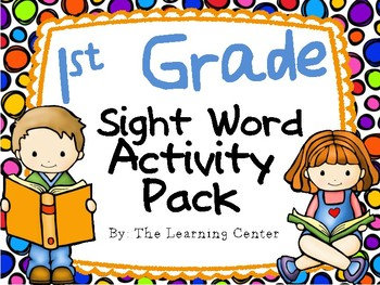 First Grade Sight Word Activities