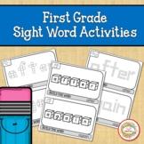 First Grade Sight Word Activities | Fine Motor Skills