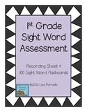 First Grade Sight Word Assessment