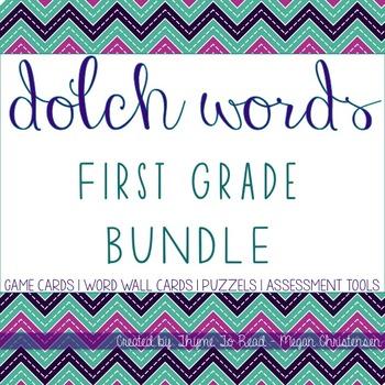 First Grade Sight Word BUNDLE + 2 FREEBIES