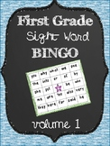 First Grade Sight Word Bingo Volume 1