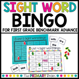 First Grade Sight Word Bingo - Benchmark Advance Aligned