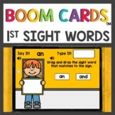 First Grade Sight Word Boom Cards™ Digital Activities