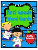First Grade Sight Word Cards FREE