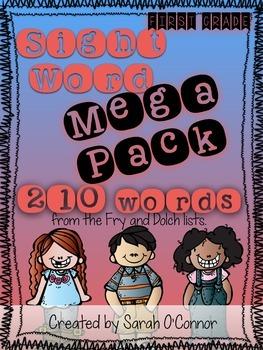 First Grade Sight Word Curriculum FULL YEAR