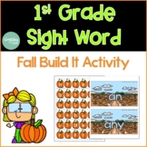 First Grade Sight Word Fall Activity