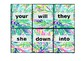 First Grade Sight Word Flash Cards (EDITABLE)