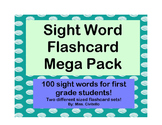 First Grade Sight Word Flashcard Pack