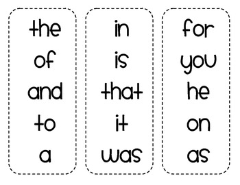 image regarding First Grade Sight Words Flash Cards Printable referred to as Initial Quality Sight Phrase Flashcards (5 terms for every flashcard)