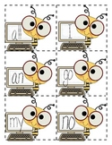 First Grade Sight Word Flashcards *Bee Theme!