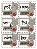 First Grade Sight Word Flashcards List 2