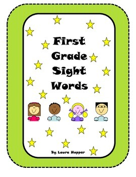 First Grade Sight Word Flashcards/ Word Wall Cards