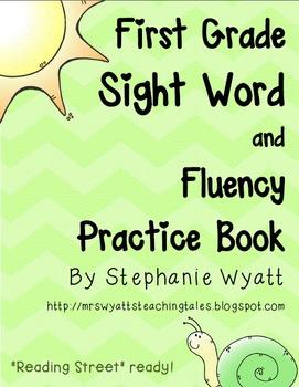 First Grade Sight Word Fluency Book