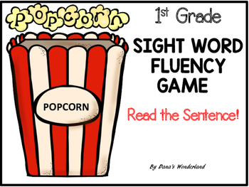 Free Sight Word Fluency Game