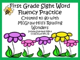 First Grade Sight Word Fluency Practice